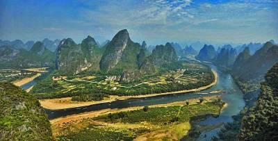Li River Limestone Mountains, Visit Guilin