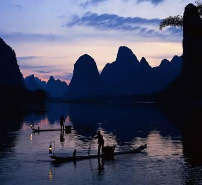 Li River Night Fishing, Visit Guilin