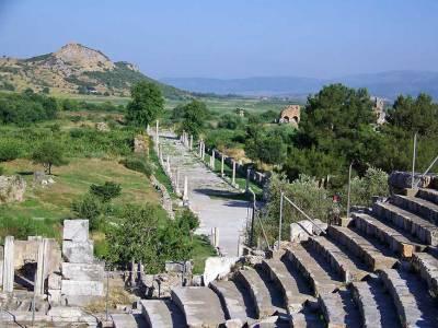Marc Anthony & Cleopatra Honeymoon Walk, Ephesus
