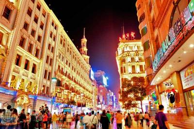 Nanjing Road Pedestrian Area, Visit Shanghai