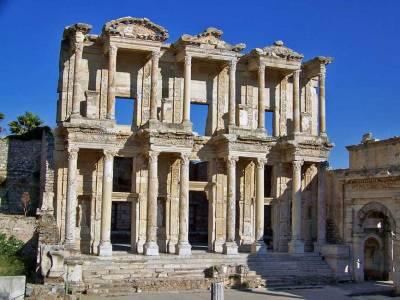 No Tourists, Library of Celsus, Ephesus Shore Excursion