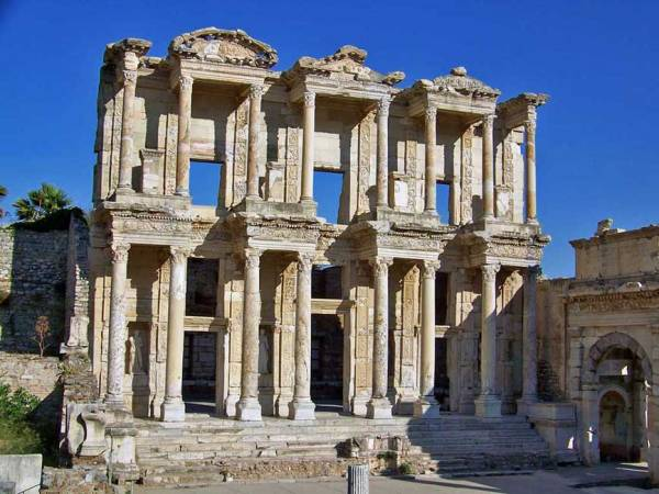 No Tourists, Library of Celsus, Ephesus Shore Excursion