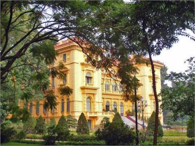 Presidential Palace, Visit Hanoi