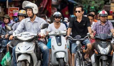 Scooter Traffic, Visit Hanoi