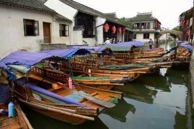 Suzhou Water Village near Shanghai