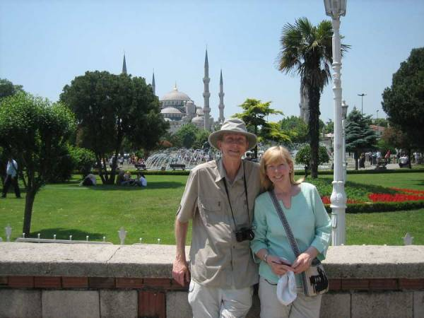 Tim & Viki, Istanbul Shore Excursion