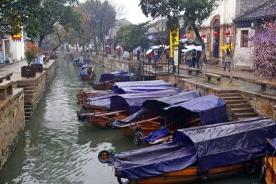 Tongli Water Town near Shanghai