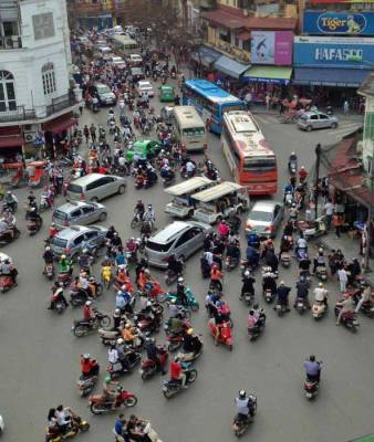 Traffic Jam, Visit Hanoi