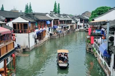 Zhujiajiao Water Village near Shanghai