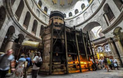 Aedicule, Church of the Holy Sepulchre, Visit Jerusalem