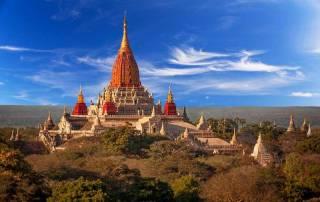 Ananda Pagoda, Bagan, Visit Myanmar