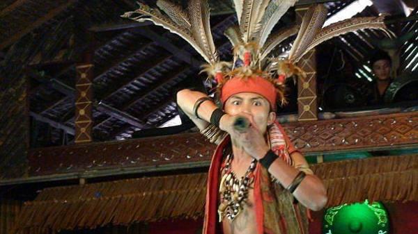 Blowpipe, Monosopiad Cultural Museum, Kota Kinabalu, Borneo