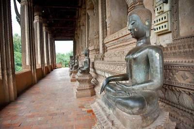 Buddhas, Haw Phra Kaew Temple, Visit Vientiane