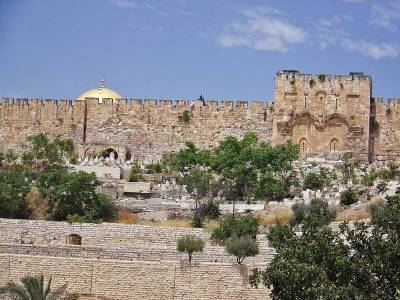 Eastern Wall, Sun Gate, Visit Jerusalem