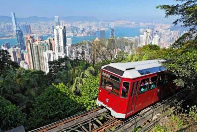 Funicular Tram, Victoria Peak, Visit Hong Kong