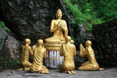 Gold Buddha, Phou Si Hill, Visit Luang Prabang