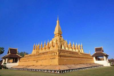 Golden Temple, Great Stupa, Visit Vientiane