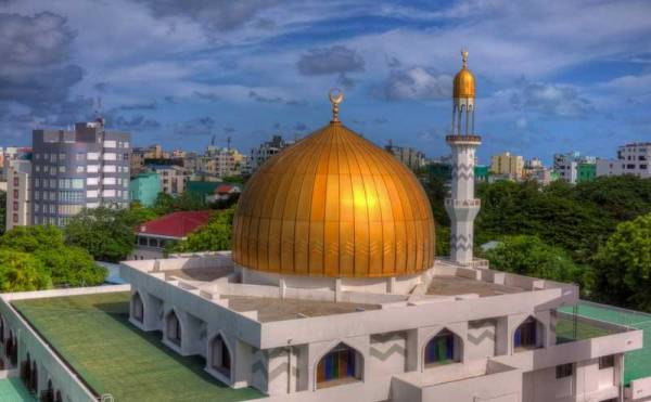 Grand Friday Mosque, Malé, Visit the Maldives