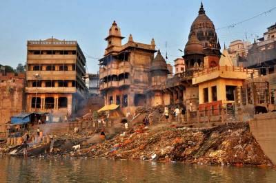 Harischandra Ghat, Ganges River, Visit Varanasi