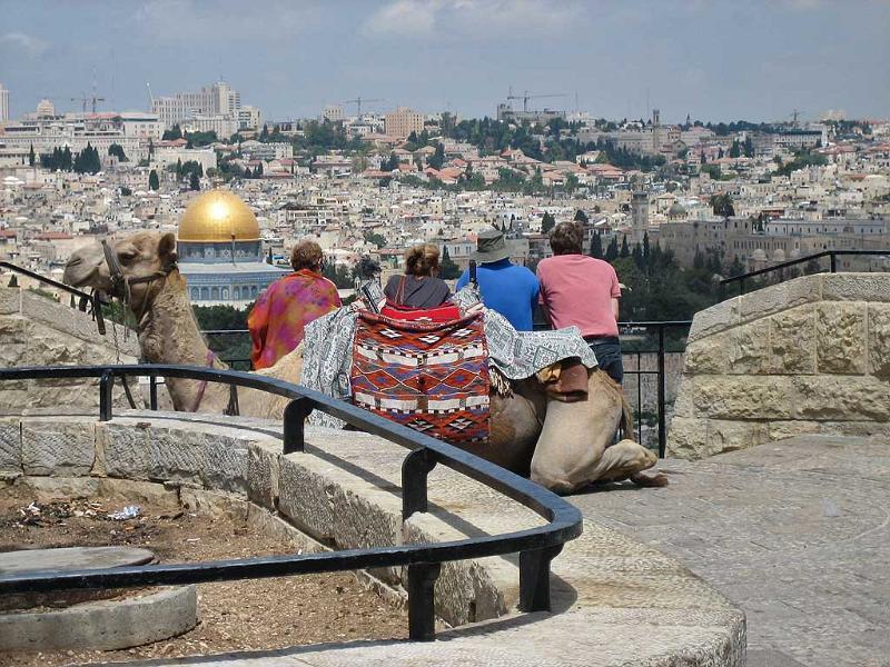 Jerusalem from the Mount of Olives, Jerusalem Tour