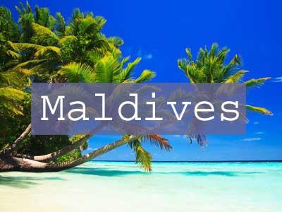 Maldives Title Page