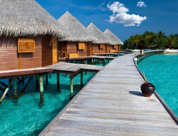 Overwater Bungalows, the Maldives