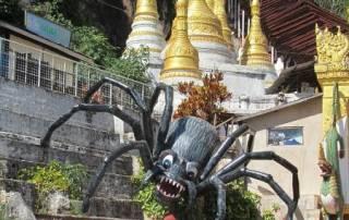 Pindaya Spider, Visit Myanmar