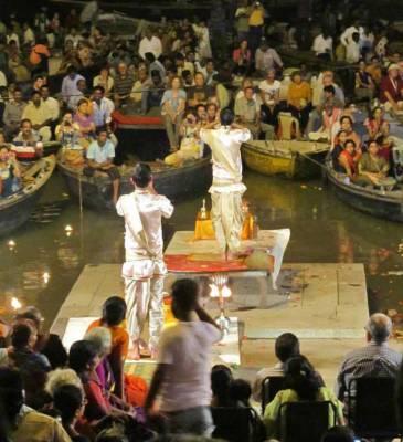 Puja Ceremony, Ganges River, Visit Varanasi