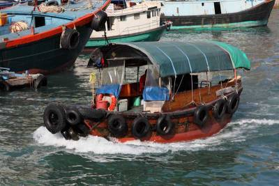 Sampan, Aberdeen Harbour, Visit Hong Kong