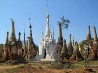 Shwe Inn Tain Pagodas, Inle Lake, Visit Myanmar