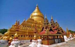 Shwezigon Pagoda, Bagan, Visit Myanmar
