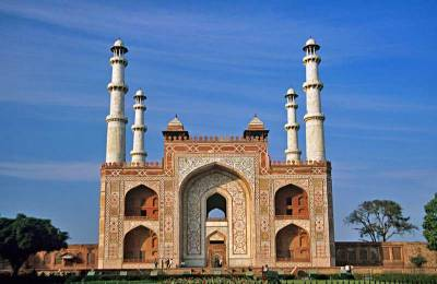 Sikandra, The Tomb of Akbar the Great