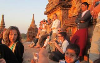 Sunset from Myae Bon Tha, Bagan, Visit Myanmar