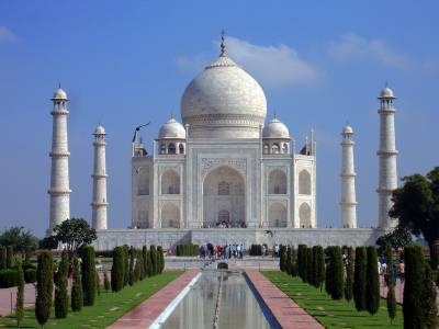 The Taj Mahal, Visit Agra