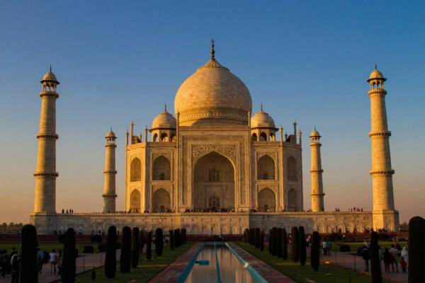 Taj Mahal at Sunset, Visit Agra