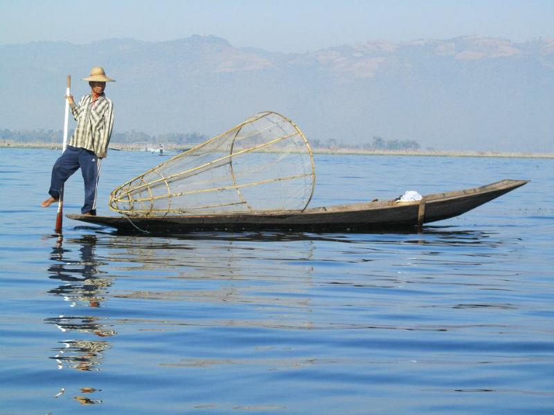 Traditional Fishing, Inle Lake, Visit Myanmar