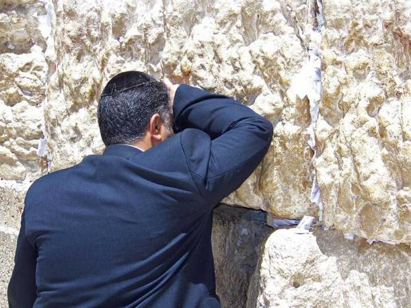 Wailing Wall Worshipper, Visit Jerusalem