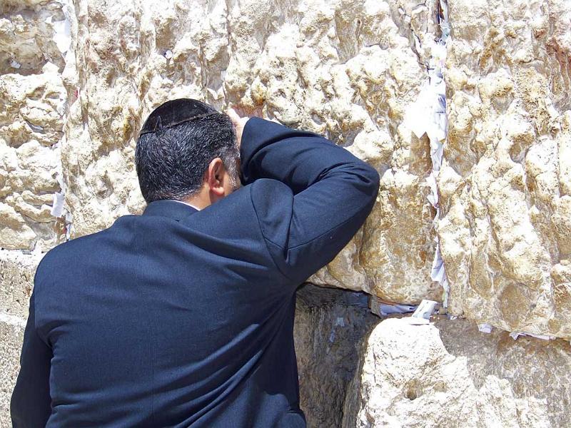 Wailing Wall Worshipper, Visit Jerusalem