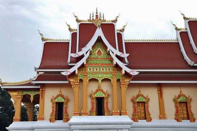 Wat That Luang Neua Buddhist Monastery, Visit Vientiane