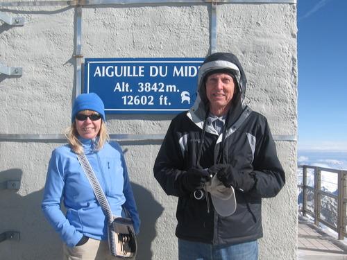 Aiguille du Midi, France, Tim