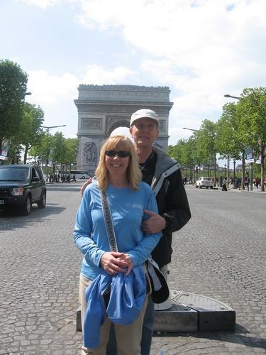 Arc de Triumphe, Paris, Tim