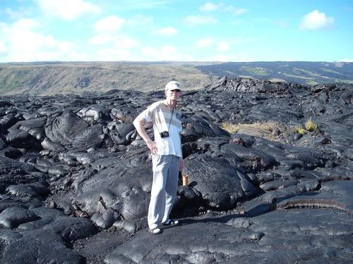 Big Island Lava, Hawaii, Tim