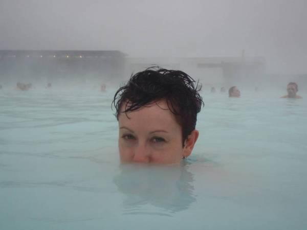 Blue Lagoon, Iceland, Tracie