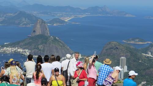 Christ the Redeemer, Rio de Janeiro, Brazil, Tim