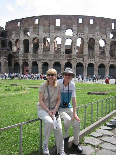 Colosseum, Rome, Tim