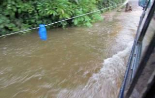 Flooding near Santa Elena Cloud Forest Reserve, Monteverde, Costa Rica Tour