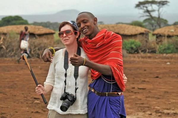 Maasai Warrior, Amboseli, Kenya, Tracie