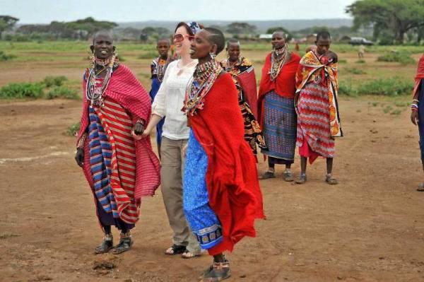 Maasai Women, Amboseli, Kenya, Tracie