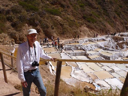 Maras Salt Mines, Peru, Tim
