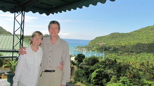 Marigot Bay, St Lucia, Tim